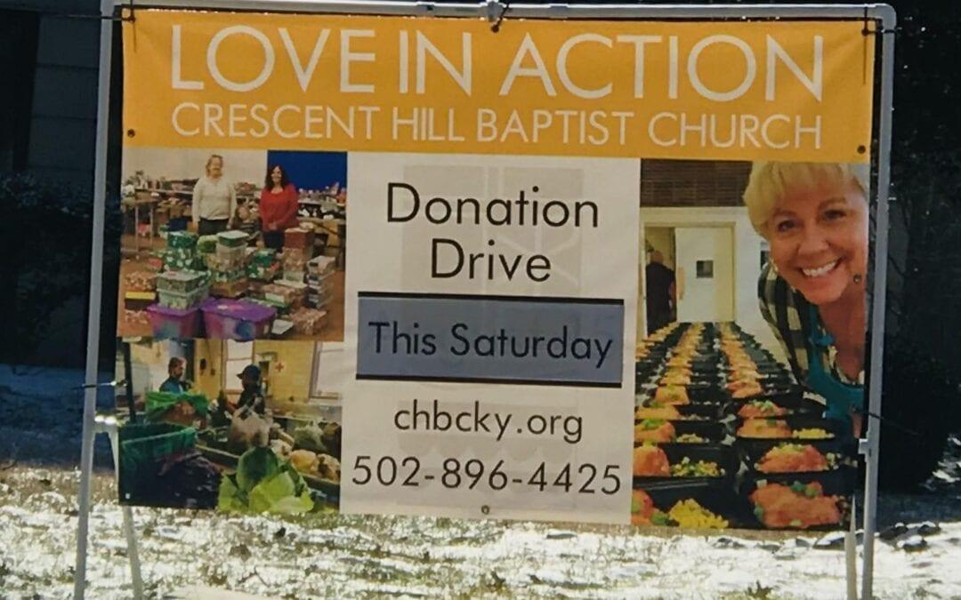 Donation Drop Off – April 17