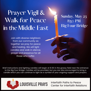 Prayer Vigil and Walk for Peace